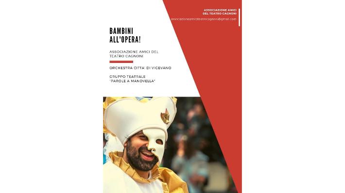 Prima pagina brochure Bambini all'opera! 2019