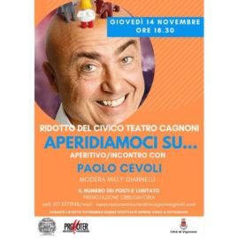 Locandina evento Paolo Cevoli